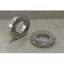 Rare Earth Permanent Ring Magnet mit Nickelüberzug