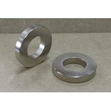 Магнитный постоянный кольцевой магнит с никелевым покрытием