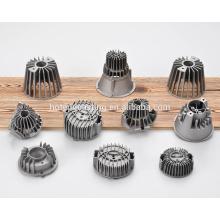 Aluminio a presión fundición carcasa del disipador de calor