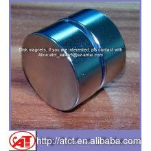 Perfekte Scheibenmagnete des Nickel-Beschichtung