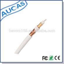 CCTV coaxial rg6 cable / cámara cable cable satelital / quad protector cable coaxial