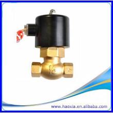 Zwei Position Zweiweg 1/2 Zoll Gewinde AC380V Dampf-Magnetventil