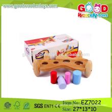 Juguetes de madera del banco del OEM y del ODM, juguetes del banco del trabajo del niño, juguetes de madera del banco del trabajo de la venta superior