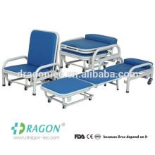 DW-MC101 Hospital plegable silla de acompañamiento en venta
