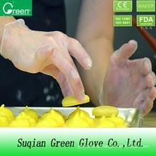 Preiswerte Lebensmittelverarbeitung Einmal-Vinyl-Handschuh