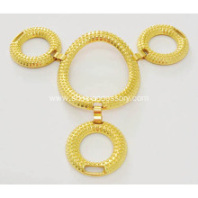 Four Circles Metal Sets Sandal Chain Shoe Decoration, Sandal Upper Ornaments