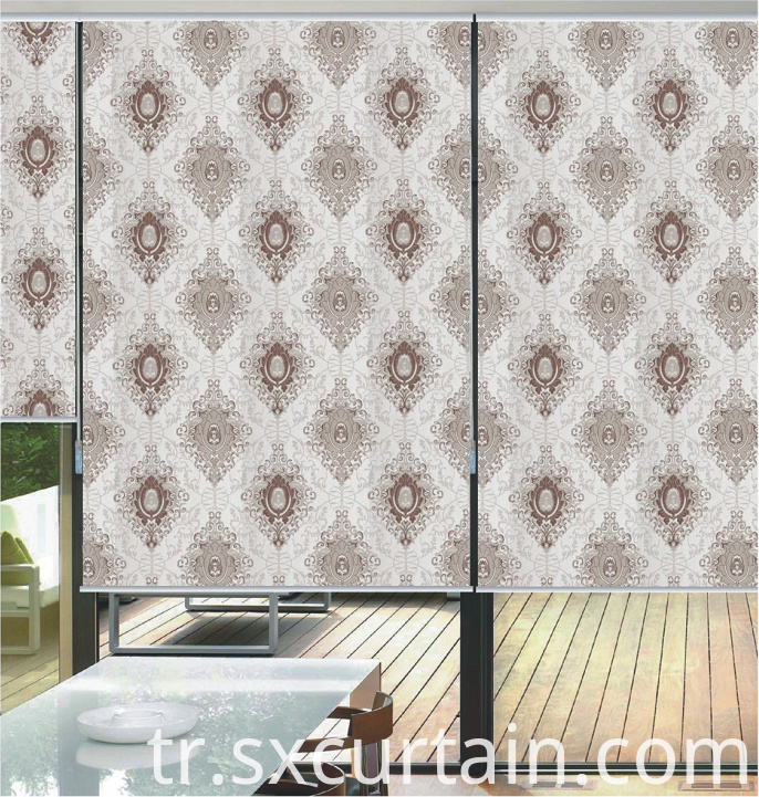 Jacquard Blind Roller Shade Curtain