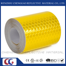 Honeycomb Yellow 3m Reflective Safety Warning Conspicuity Tape (C3500-OXY)