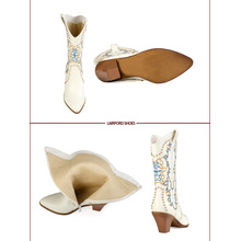 middle heel special totems women half boots