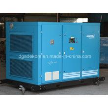 Compresor de aire del inversor de frecuencia variable de tornillo rotativo refrigerado por agua (KE132-10INV)