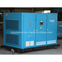 Compresseur d'air d'inverseur de fréquence rotatoire à vis rotatoire refroidi à l'eau (KE132-10INV)