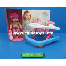 "Brinquedo novo 16 ""boneco de bebê menino macio com 4 IC (864436)"