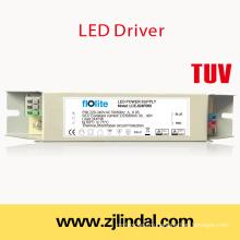 24W светодиодный драйвер постоянный ток (металлический корпус)