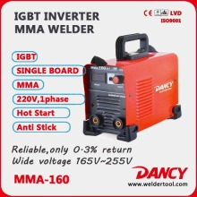 MMA 160 inverter dc welder machine