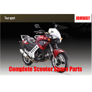 Jonway Tour Sport YY250-5A Repuestos de Scooter completos Repuestos originales