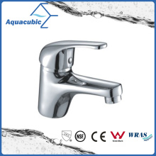 Zinc Handle Brass Body Basin Faucet in Polished Chrome (AF1961-6)
