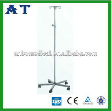 high quality stainless steel I.V. stand with adjustable metal pole
