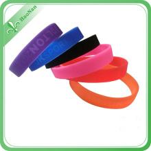Wholesale Cheap Promotional Logo Printing Silicone Wristband