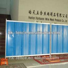 Painel provisório da cerca da açambarcamento do canteiro de obras de 1.8m