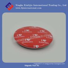 Aimant de bouton Aimant de réfrigérateur Pince à bouton magnétique