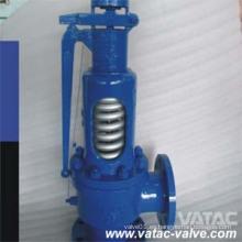 Válvula de alivio de seguridad de elevación completa convencional con palanca