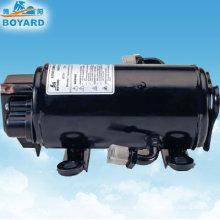 Compresor de aire acondicionado de dc de bajo voltaje para aire acondicionado de cabina 12v/24v de camiones vehículos eléctricos carro taxi minería construcción máquina