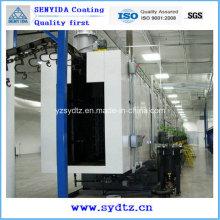 Máquina de pintura por pulverização automática de revestimento a pó