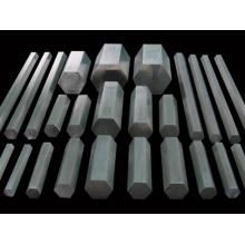 Selon les barres hexagonales standard en acier inoxydable GB / DIN / JIS