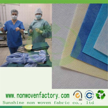 100% Virgin Medical Nonwovens Polypropylene Spunbond Fabric