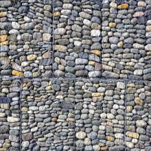 Uso de Ouside da parede de Gabion da pedra do tipo de Zhuoda / Gabion