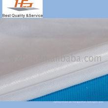 Planície branca da tela impermeável para a matéria têxtil home