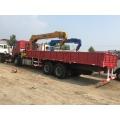 HOWO 25 Ton Truck com guindaste montado