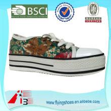 Plataforma no zapatos de tacón zapatos de plataforma de las mujeres al por mayor 2014