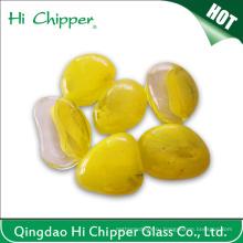 Желтая цветная каменная глина