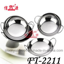 Stainless Steel Deep Frying Pan (FT-2211)
