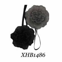 Bandeau en satin à grande fleur (XHB1486)