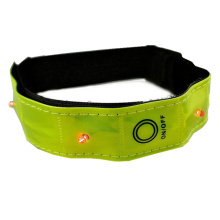 Factory selling for Kids Reflective Safety Vest Led Safety Flashing Led Armband for Running export to Pakistan Wholesale