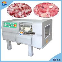 500-800kg / H Machine de découpe à découpe de cubes à viande congelée automatique industrielle automatique