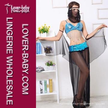 Traje de dança do ventre traje sexy vestido (l1356)