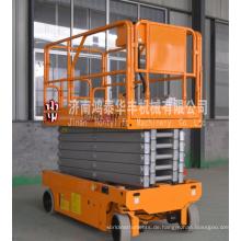 Einzelner Selbstfahrer vertikaler elektrischer Plattformaufzug Einzelner Selbstfahrer vertikaler elektrischer Plattformaufzug