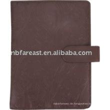 2015 Top Verkauf New Design PU Cover Notebook