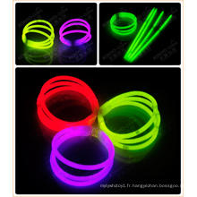 Bracelet à trois couleurs Glowstick Glow in the Dark Bracelet