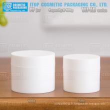 Série WJ-AD 8g 15g 30g 50g 100g mat finition droite angle classique et hot-vente large application Crème/gel rond pp jar