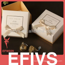 New Beautiful Delicate Wedding Jewelry Box Packing Supplier