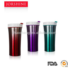 2015 new popular thermos mug with ceramic inside and lid
