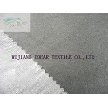 Floqué tissu collé avec TC tricot pour tapisserie