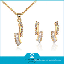 Personalized Gold Plating Jewelry Set (J-0046)