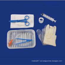 Kit de tubo estomacal desechable para uso médico