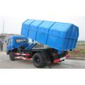Nuevo Dongfeng CUMMINS 190hp 12cbm rodar fuera de camión de basura
