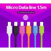 Couleurs Mutiple haute vitesse Câble USB 1,5 m pour micro-port